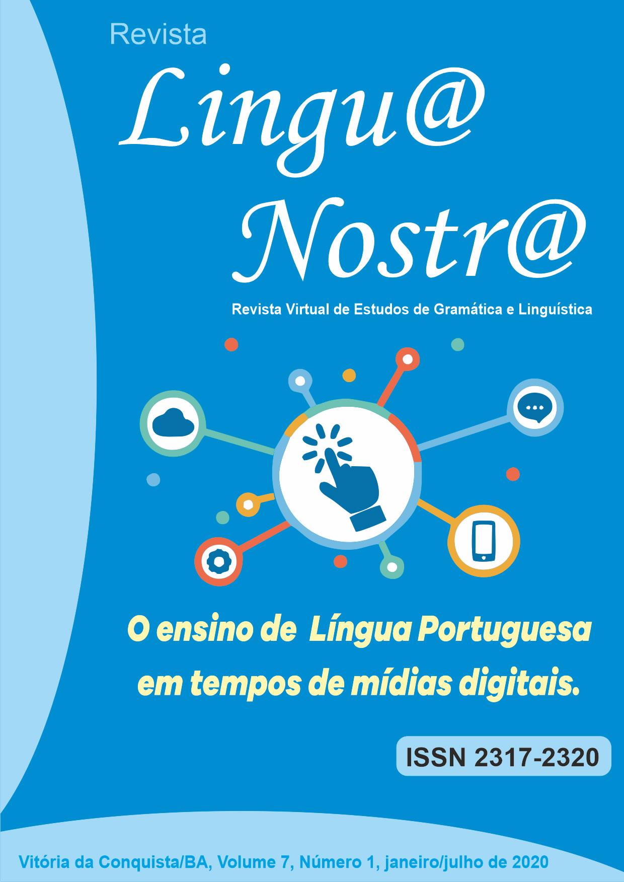 Visualizar v. 7 n. 1 (2020): O ensino de Língua Portuguesa em tempos de mídias digitais